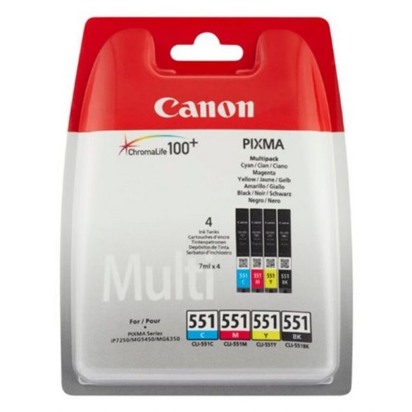 Eredeti tintapatron Canon ChromaLife100+ (4 pcs)