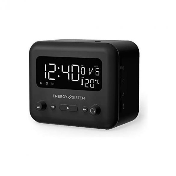 Bluetooth Energy Sistem Clock Speaker 2 Bluetooth Graphite LED Bluetooth 5W