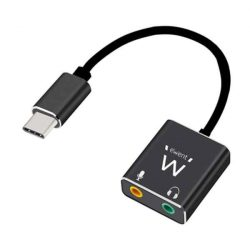 Audio Jack Átalakító Ewent EC1645 USB C