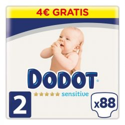 Eldobható pelenkák Sensitive Dodot 2 Méret0 (88 uds)