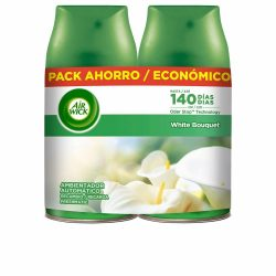 Elektromos Légfrissítőt és Utántöltőt Air Wick White Bouquet (2 x 250 ml)