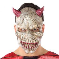 Maszk Halloween Démon Fehér (21 x 34 cm)