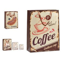 Táska Hot Dog & Coffee Műanyag Nagy (12 x 43 x 30 cm)
