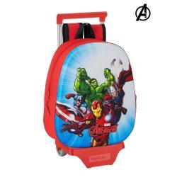 2 Iskolatáska Kerekekkel 705 The Avengers Piros