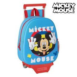 2 Iskolatáska Kerekekkel 705 Mickey Mouse Clubhouse Világoskék
