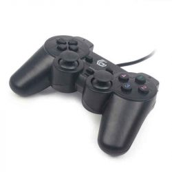 Játékkonzol GEMBIRD Dual Gamepad PC Fekete