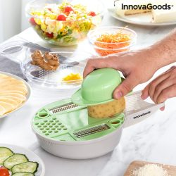 6 az 1-ben multifunkciós reszelővágó tartozékokkal és receptekkel Gradder InnovaGoods